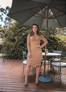 Vestido Susan Caramelo - Moda Feminina