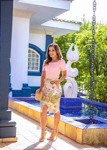 Saia Giovana Rosê - Moda Feminina