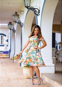 Vestido Linda Verde - Moda Feminina