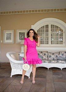 Vestido Livia Pink - Moda Feminina