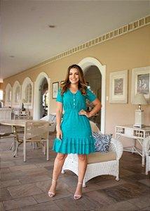 Vestido Livia Azul - Moda Feminina