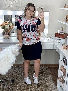 T-Shirt love- Moda Feminina