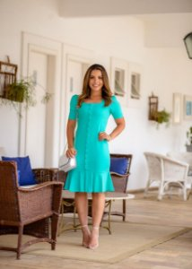 Vestido Ester Tiffany - Moda Feminina