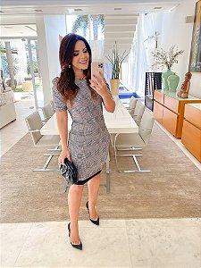 Vestido Silvania Xadrex - Karina Rampaso