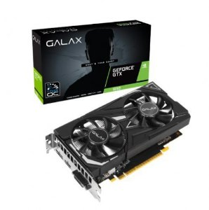 Placa de Vídeo NVidia GeForce GTX1650 EX 1CLICK OC 4GB DDR5 128Bits Galax (1x DVI-D / 1x HDMI / 1x DisplayPort)