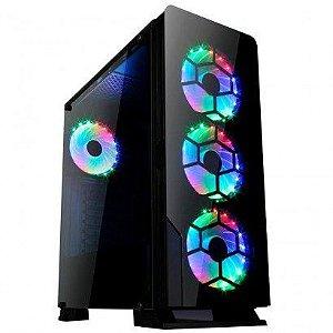 Gabinete Liketec Diamond RGB Mid Tower (SEM FONTE)