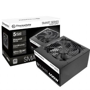 Fonte ATX 600W 80Plus White PFC Ativo Thermaltake SMART