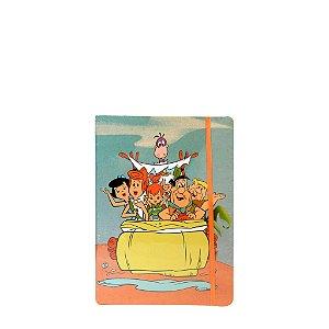Bloco de  Anotações Pequeno - Família Flintstones