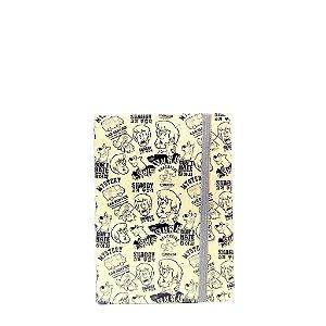 Bloco de  Anotações Pequeno - Scooby Doo Tipo Jornal