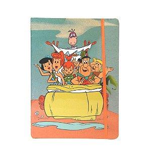 Caderneta de  Anotações Grande - Família Flintstones