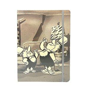 Caderneta de  Anotações Grande - Barney e Fred Flinststones