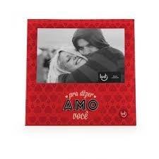 Porta Retrato Significa Amor - Vermelho