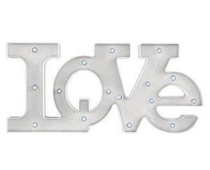 Letreiro Love com Led - Branco