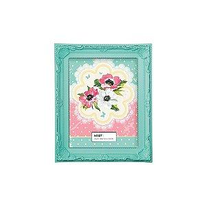 Porta Retrato Antique 10x15cm - Verde Candy