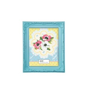 Porta Retrato Antique 10x15cm - Azul Candy