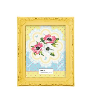 Porta Retrato Antique 13x18cm - Amarelo