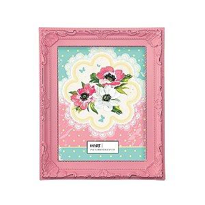 Porta Retrato Antique 13x18cm - Rosa Candy