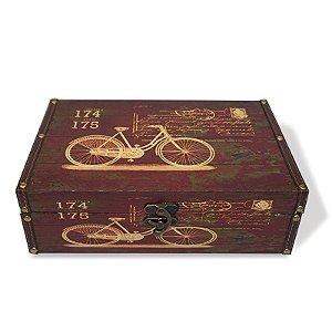Caixa Decorativa Bicicletas - Grande