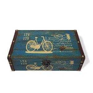 Caixa Decorativa Bicicletas - Média