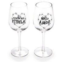 Taças de Vinho Amor Infinito