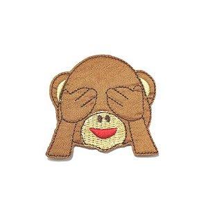 Patch Emoticon Macaco - Olhos