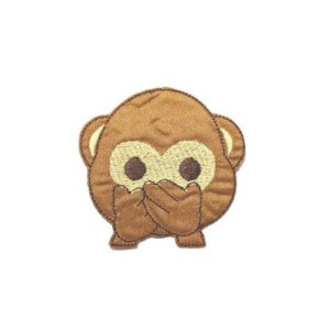 Patch Emoticon Macaco - Boca