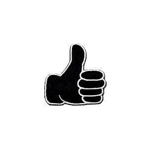 Patch Emoticon Mão - Curti