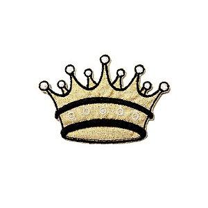 Patch Coroa Dourada