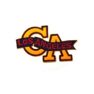 Patch Los Angeles - Laranja