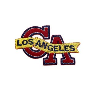 Patch Los Angeles Vermelho