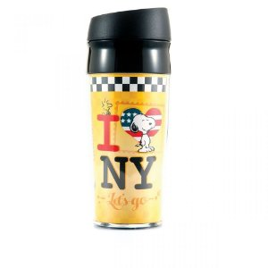 Copo Térmico Snoopy - I Love NY