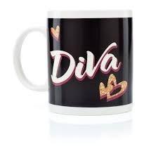 Caneca Termossensível Diva