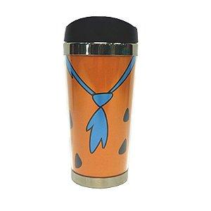 Copo Térmico Roupa Fred Flintstones