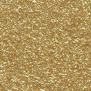 Folha de Scrapbook Puro Glitter - Dourado
