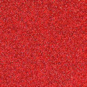 Folha de Scrapbook Puro Glitter - Vermelho
