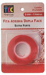 Fita Adesiva Dupla Face - Extra Forte 6mm x 5m