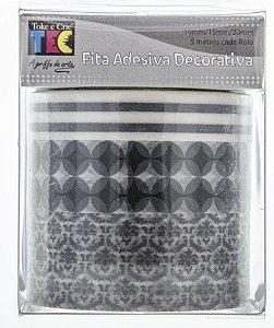 Conjunto Fita Adesiva Washi Tape Nobre