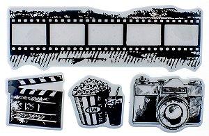 Carimbo Emborrachado 10 x 15cm - Filme