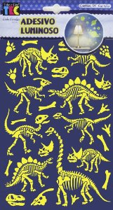 Adesivo Luminoso - Dinossauros