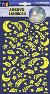 Adesivo Luminoso - Estrela Cadente