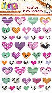 Adesivo Puro Encanto - Corações