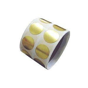 Etiqueta Bola Dourada