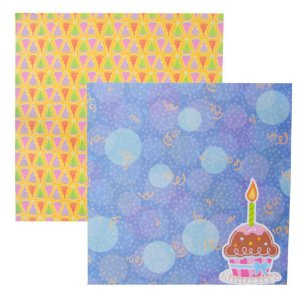 Folha de Scrapbook Cupcake Festa