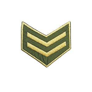 Patch Militar Verde e Bege