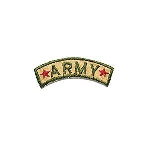 Patch Army Estrelinhas Vermelhas