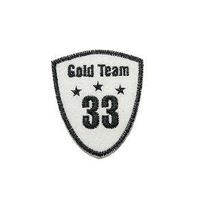 Patch Escudo Gold Team 33
