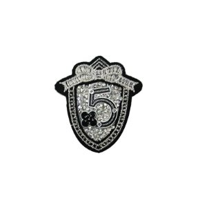 Patch Escudo 5 com Strass