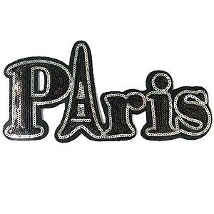 Patch Paris com Paetê
