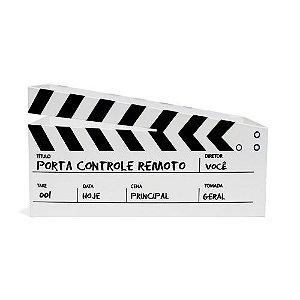Porta Controle Cinema Branco