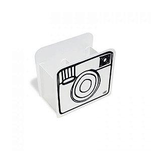 Porta Lápis Desenho Câmera